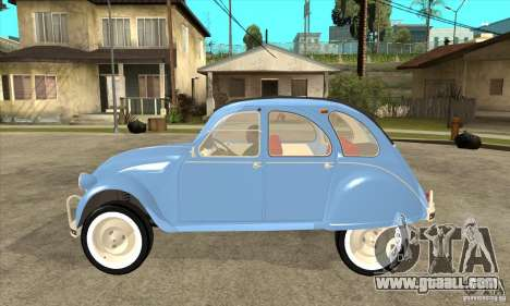 Citroen 2CV for GTA San Andreas left view