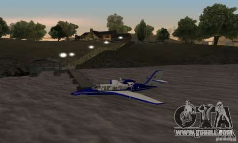 Beriev be-103 for GTA San Andreas left view