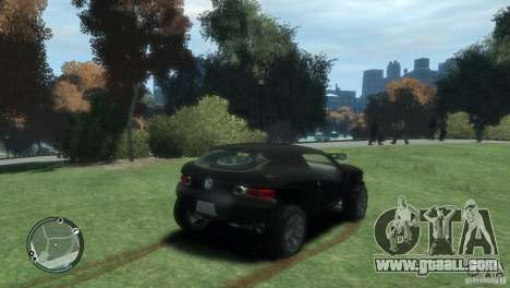 Volkswagen Concept for GTA 4 back left view