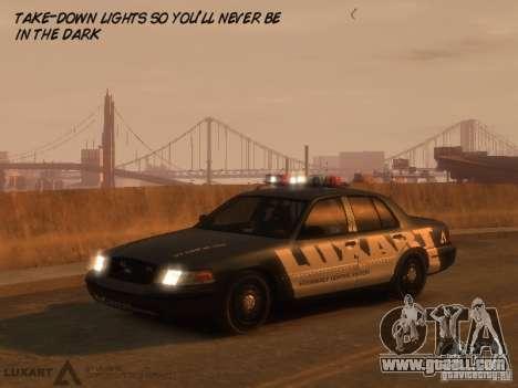 EMERGENCY LIGHTING SYSTEM V6 for GTA 4 third screenshot