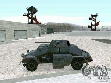 Armoured personnel carrier of game behind enemy  for GTA San Andreas right view