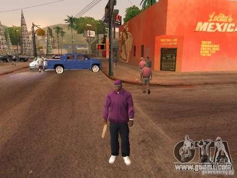 Ballas 4 Life for GTA San Andreas tenth screenshot