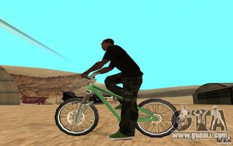 Dirt Jump Bike for GTA San Andreas