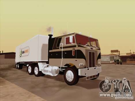 Peterbilt 352 for GTA San Andreas back left view