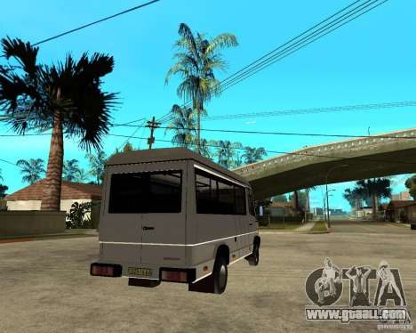 Mercedes-Benz 612D Vario for GTA San Andreas