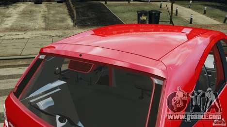 Chevrolet Agile for GTA 4 interior