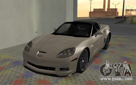 Chevrolet Covette Z06 for GTA San Andreas