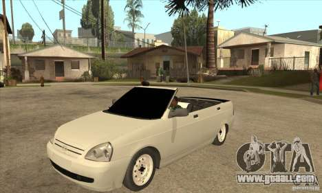 VAZ LADA Priora convertible for GTA San Andreas