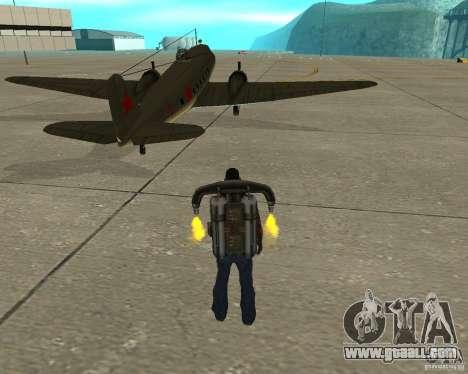 Li-2 for GTA San Andreas back left view