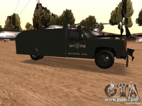 GMC SIERRA 3500 for GTA San Andreas right view