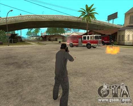 Gta IV weapon anims for GTA San Andreas fifth screenshot