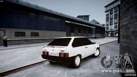 VAZ 21083i for GTA 4 back view
