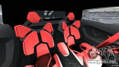 Lamborghini Sesto Elemento 2011 Police v1.0 RIV for GTA 4 inner view
