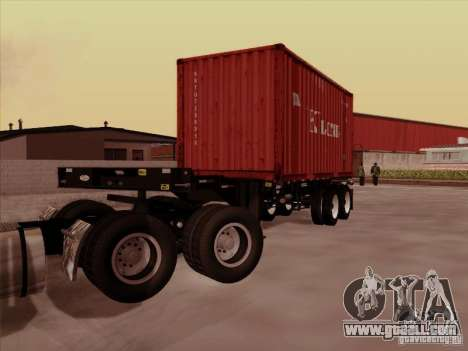 Container for GTA San Andreas left view