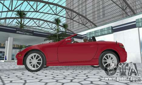 Mercedes-Benz SLK 350 for GTA San Andreas right view