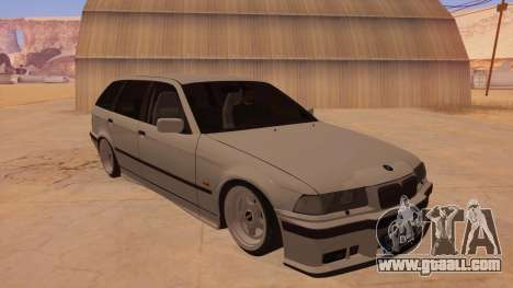 BMW M3 E36 Touring for GTA San Andreas back view
