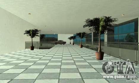 Mercedes Showroom v.1.0 (Autocentre) for GTA San Andreas fifth screenshot