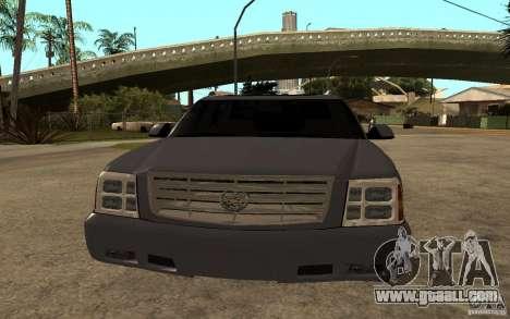Cadillac Escalade pick up for GTA San Andreas