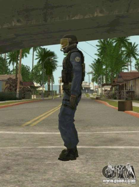 Counter-terrorist for GTA San Andreas second screenshot