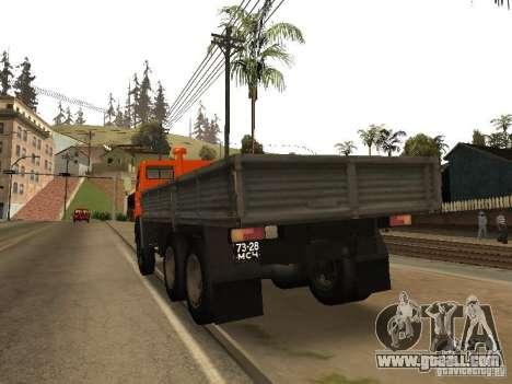 KAMAZ 5320 for GTA San Andreas back left view