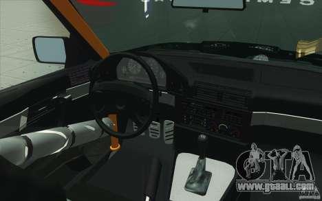BMW E34 V8 Wide Body for GTA San Andreas upper view