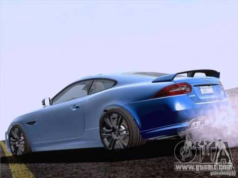 Jaguar XKR-S 2011 V2.0 for GTA San Andreas left view