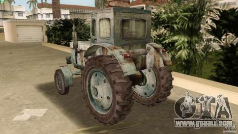 Tractor t-40 for GTA Vice City side view