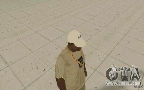 Boss Cap white for GTA San Andreas second screenshot