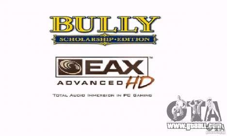 Boot clip art Bully Scholarship Edition for GTA San Andreas forth screenshot