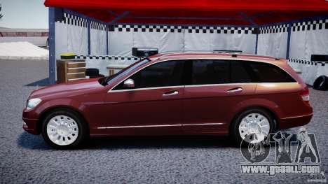 Mercedes-Benz C 280 T-Modell/Estate for GTA 4 left view