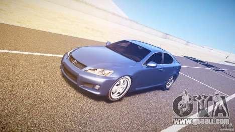 Lexus IS F for GTA 4