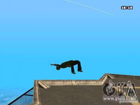 Parkour Mod for GTA San Andreas tenth screenshot