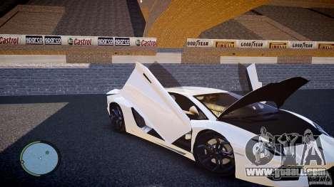Lamborghini Aventador LP 700-4 for GTA 4 side view