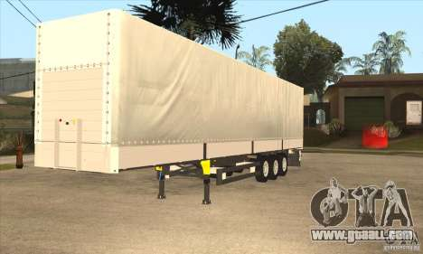 Trailer for GTA San Andreas left view