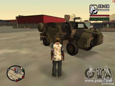 Australian Bushmaster for GTA San Andreas