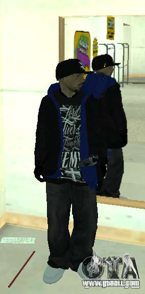 Vagos Gang Skins for GTA San Andreas ninth screenshot