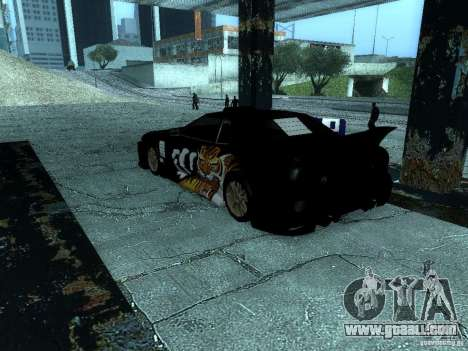 Vinyl big Lou of Most Wanted for GTA San Andreas right view