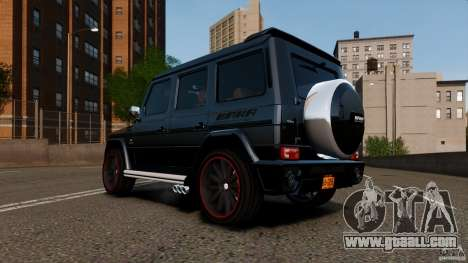 Mercedes Benz G55 AMG Aka Eurosport body kit for GTA 4 left view