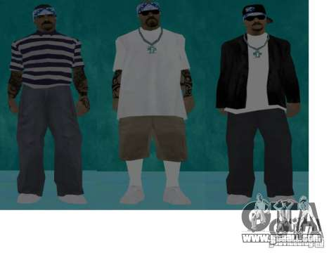Skins bands HQ for GTA San Andreas forth screenshot