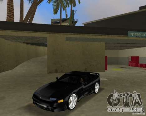 Mitsubishi 3000 GT 1993 for GTA Vice City back view