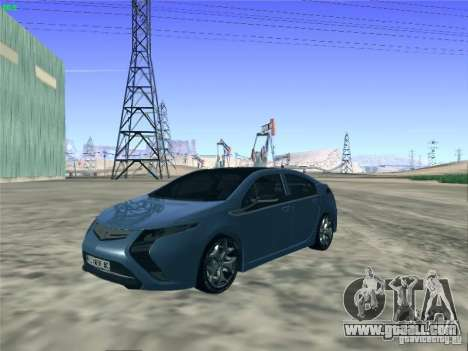 Opel Ampera 2012 for GTA San Andreas back left view
