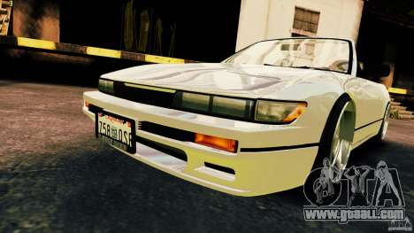 Nissan Silvia S13 Cabrio for GTA 4 right view