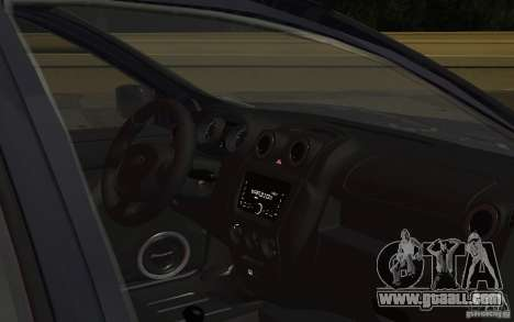 Lada Granta Stock for GTA San Andreas inner view