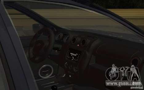 Lada Granta Stock for GTA San Andreas inner view