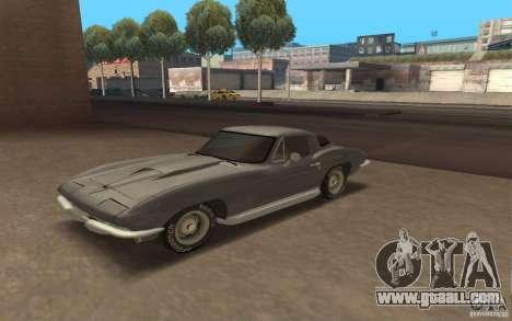Chevrolet Corvette 427 for GTA San Andreas