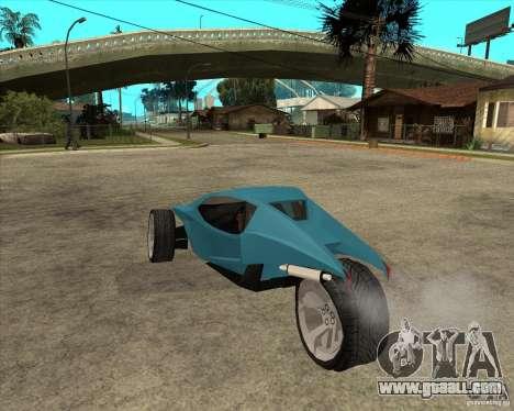AP3 cobra for GTA San Andreas left view