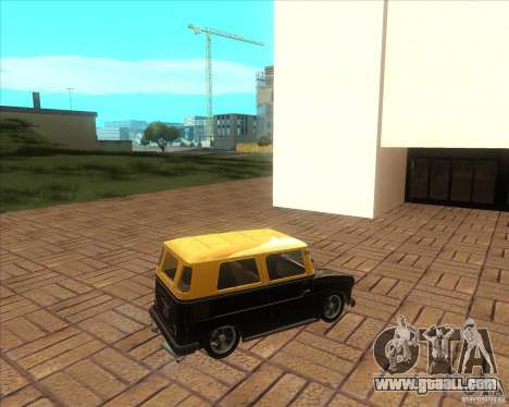 VW Typ 147 - Fridolin for GTA San Andreas left view