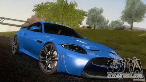 Jaguar XKR-S 2011 V1.0 for GTA San Andreas engine