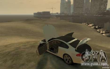 BMW M6 2010 v1.4 for GTA 4 back left view
