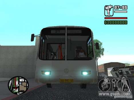 Mercedes-Benz O345 for GTA San Andreas right view